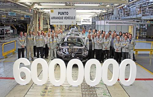 Vehículo 6 millones Factoría Renault Palencia