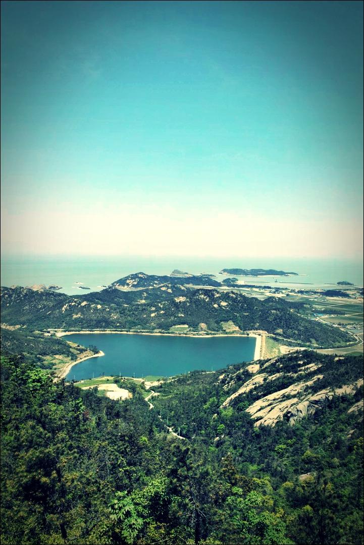 정상 풍경-'비금도 Bigum Island Shinan'