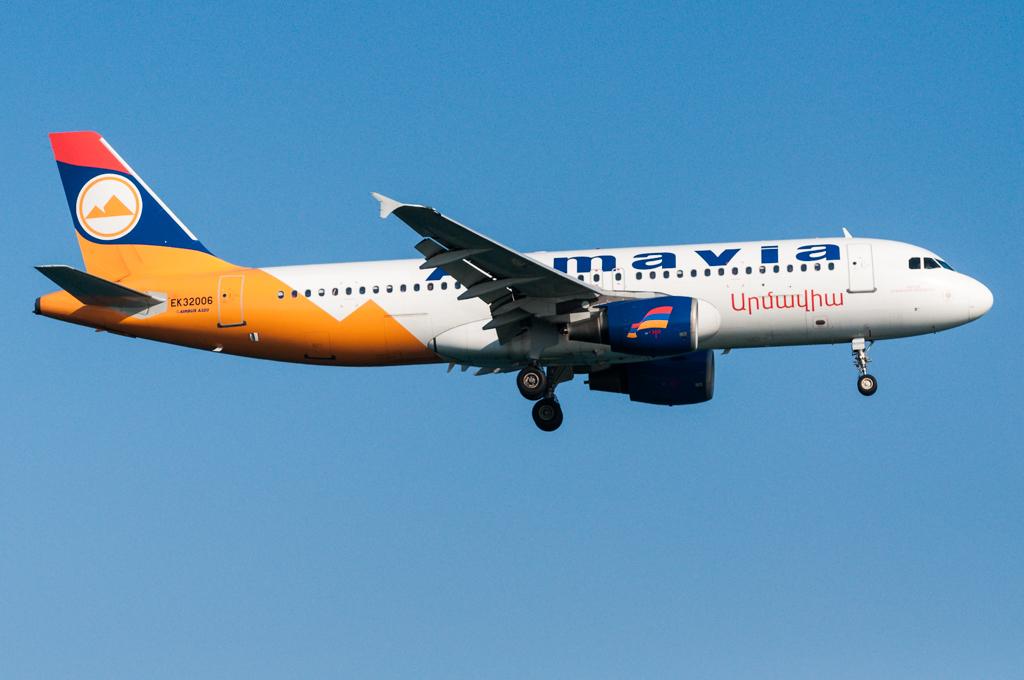 EK32006 - Armavia - Airbus A320-200