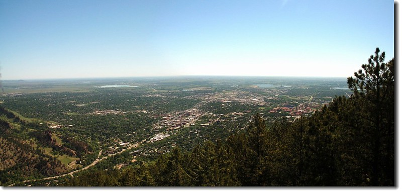 Flagstaff Mountain Overlooks Boulder