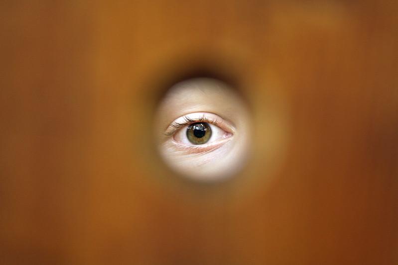 """142 / 365 """"mirror room hole"""""""