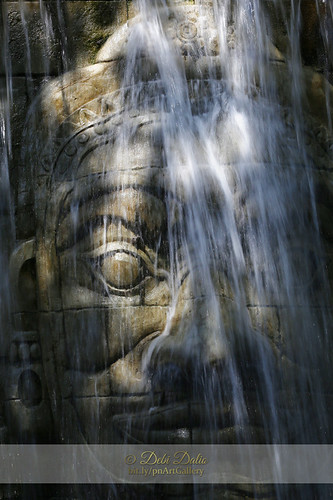 statue photography waterfall lightandshadow carvedstone