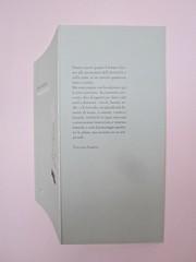 Ortografia della neve, di Francesco Balsamo. incertieditori 2010. Progetto grafico di officina delle immagini. Copertina, risvolto di copertina,  (part.), 1