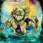 Painting Black Lagoon