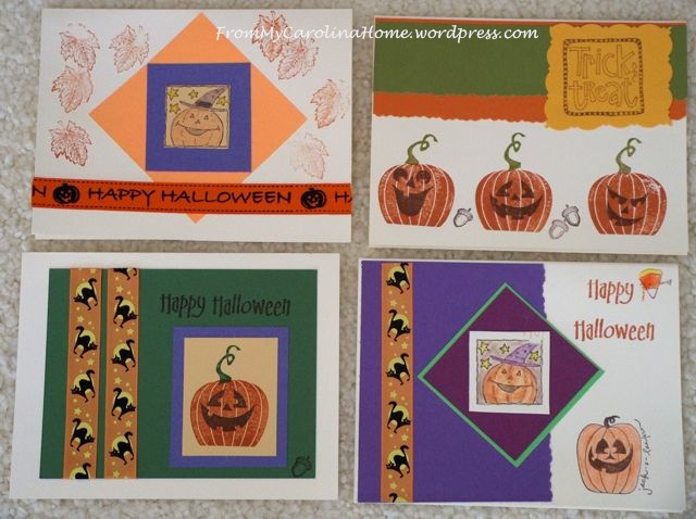 Fall greetings cards