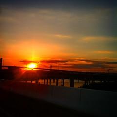 #goodevening #baltimore #sunset