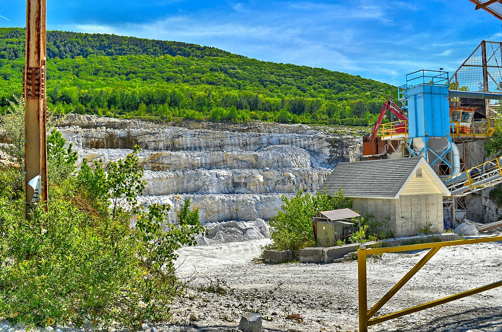 Specialty Minerals Inc  Limestone Quarry