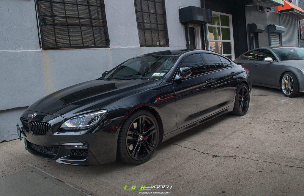 F06 650i Blacked Out W Red Accents