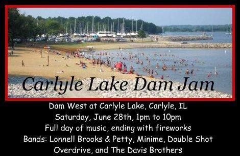 Carlyle Lake Dam Jam 6-28-14