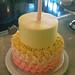 !st birthday rosette cake - <span>©CupCakeBite</span>