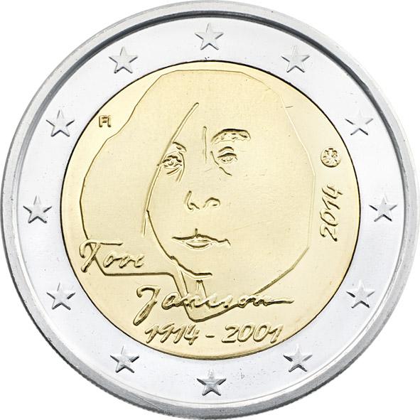 2 Euro Fínsko 2014, T.M. Jansson