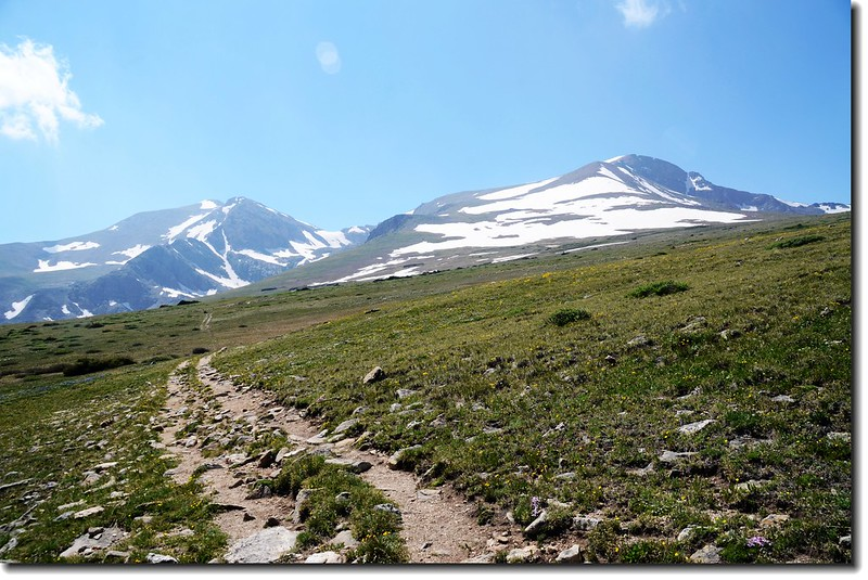 James Peak and Mount Bancroft from theTundra 2