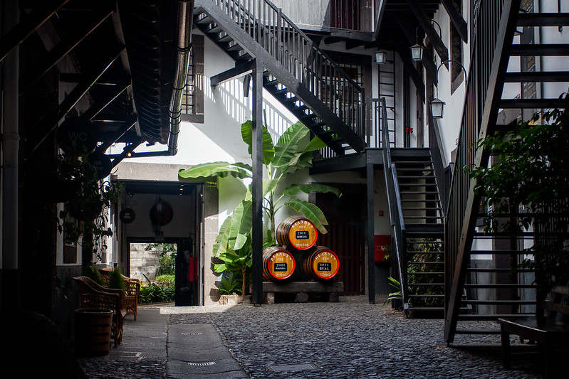 Courtyard - Blandy's Wine Lodge in Funchal