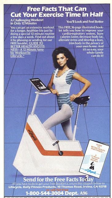 Bally Fitness ad 1987