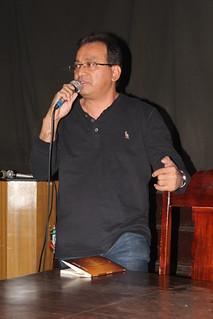 Professor Isaac Ramos | Crédito: José Vitor Rezende Jr.