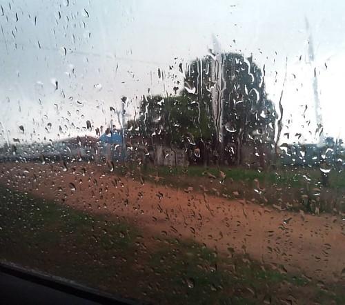 Esperando a chuva  as 6:50 da Matina