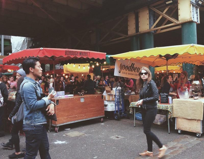 Nguyen, Dana; London, England - Big Bus, Borough Market