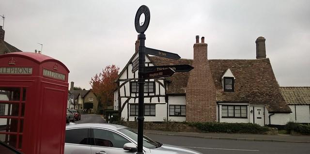 Houghton village centre