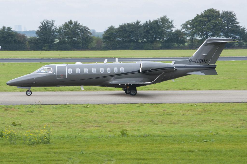 G-USHA - LJ75 - BRAZIL AIR