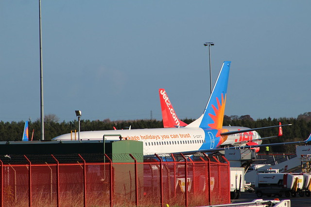 jet 2 holidays B737, Canon EOS 100D, Canon EF 75-300mm f/4-5.6