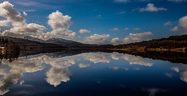 Landscape Reflecting Sky