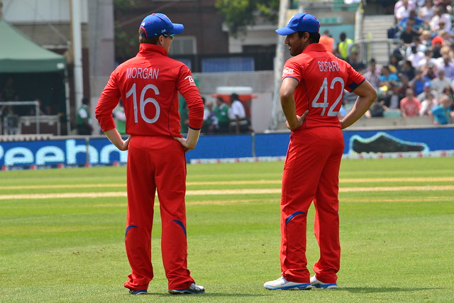 Eoin Morgan & Ravi Bopara (Cricket)
