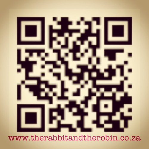 Scan me for all the Rabbit and the Robin Urls #rabbit #rabbitandrobin #design #qr #code #blog #fb #twitter #youtube #art #photography