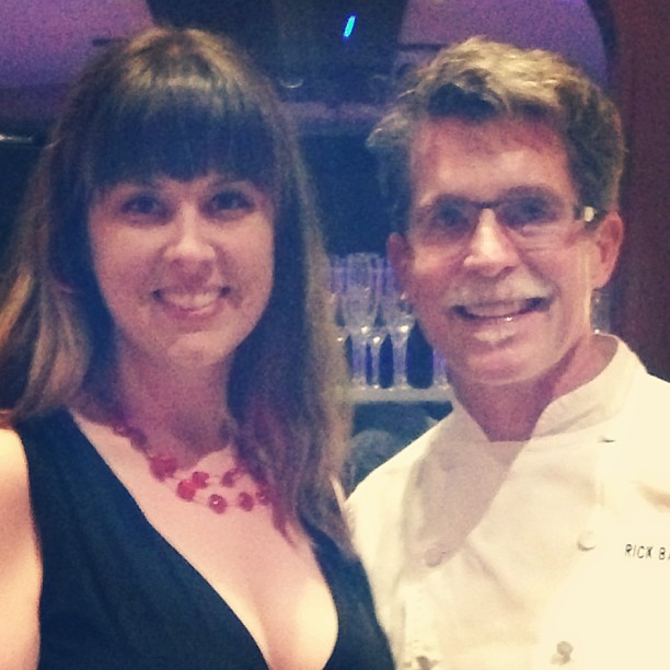 Oh, just hanging out with Rick Bayless. Like I do.