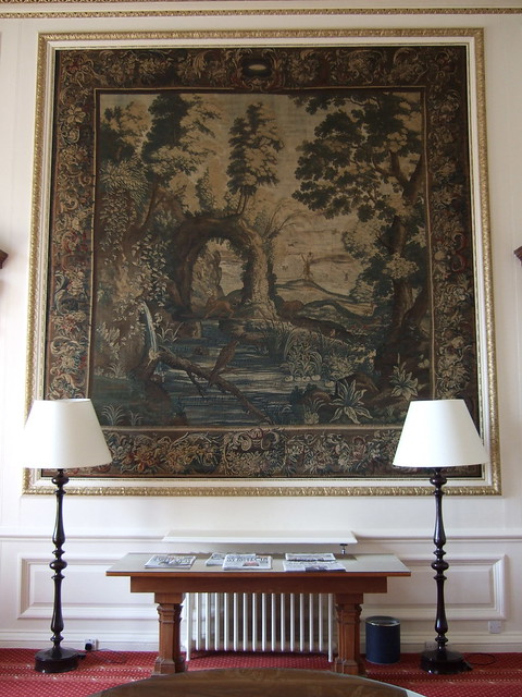 018 mad tapestry Saloon Brussels c1660 firm of de Vos