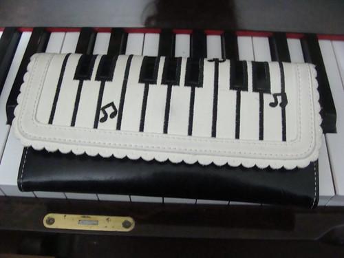 Carteira de piano!