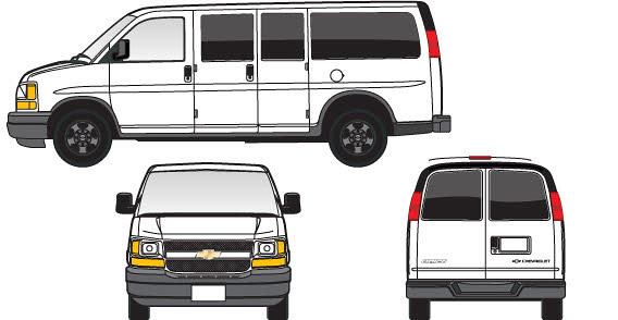 clipart pictures of vans - photo #41