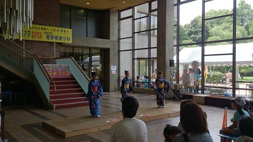 2013/7/21 蕨SPF 千の会(日本舞踊)
