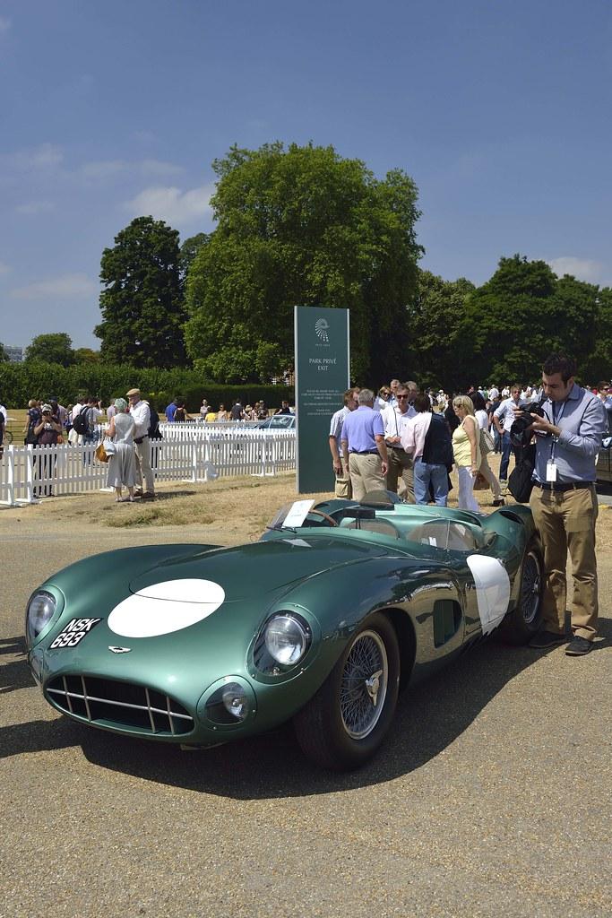 Aston Martin Centenary Celebration UK