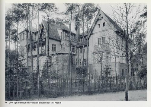 Berlin Grünewald villa 1902