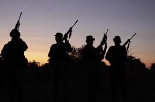 Army Saving Rhinos