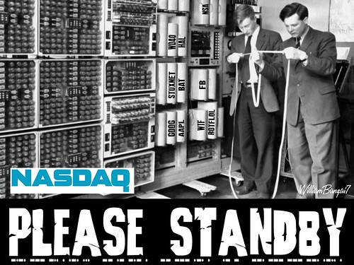 NASDAQ PLEASE STANDBY by WilliamBanzai7/Colonel Flick