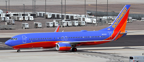 Southwest Airlines Boeing 737-8H4...