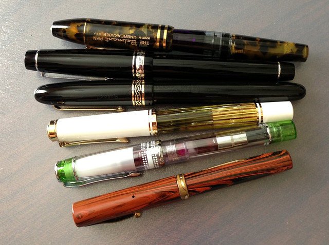 Fountain Pens - in review
