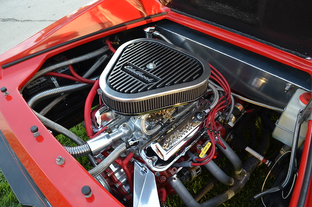 Woodward Edlebrock Engine