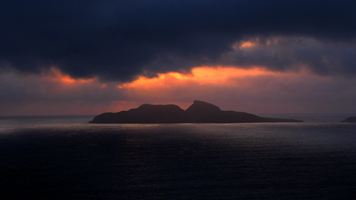 clouds islands michael sonnenuntergang irland mount seaview skellig