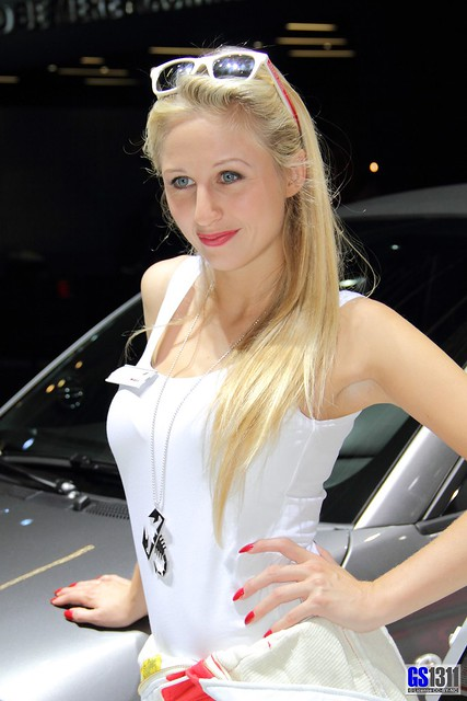 Girls at Frankfurt Motor Show (IAA) 2013: Abarth Girl