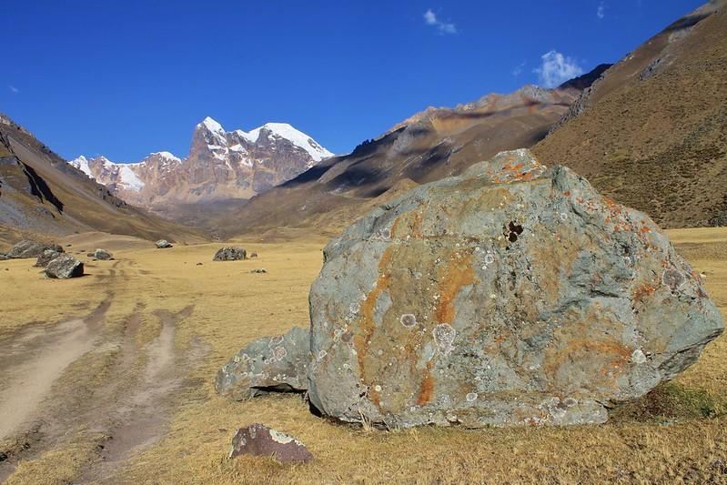 A rock I liked in Quebrada Huanacpatay