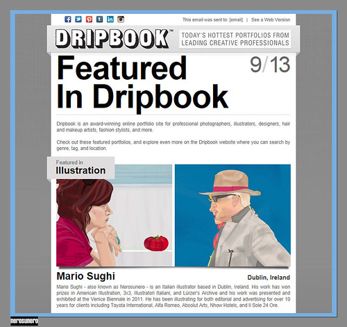 nerosunero featured in Dripbook (Sept 2013) by nerosunero