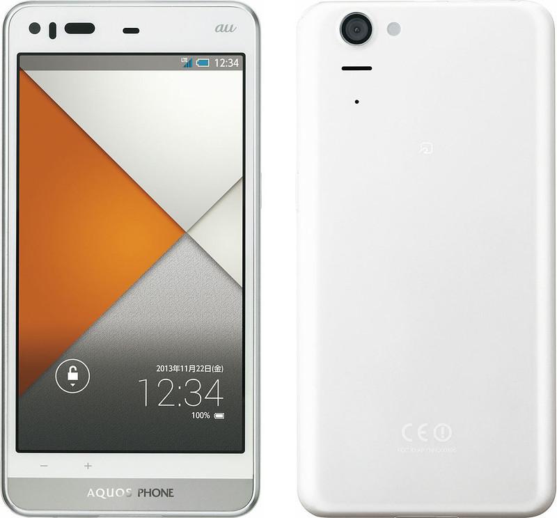 AQUOS PHONE SERIE SHL23 実物大の製品画像