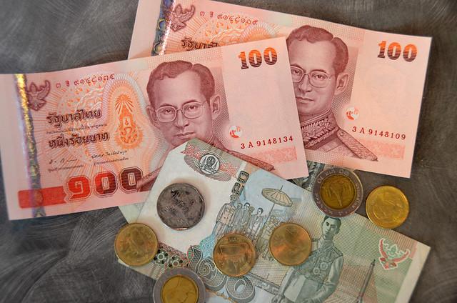 Dinero de Tailandia