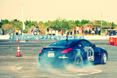 Nissan 350Z Rear Dance