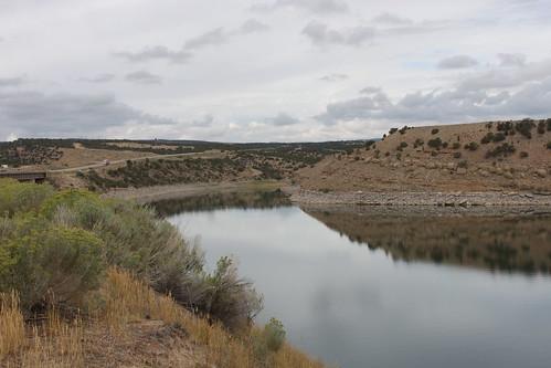 usa lake landscape utah strawberry reservoir starvation