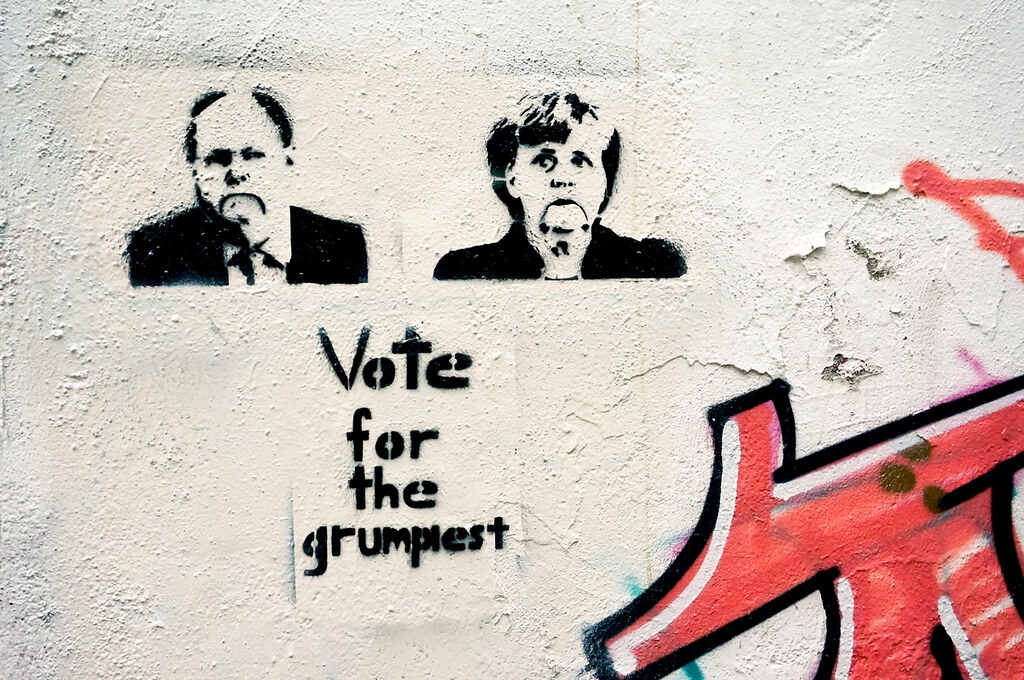 Street Art btw13 Bundestagswahl 2013