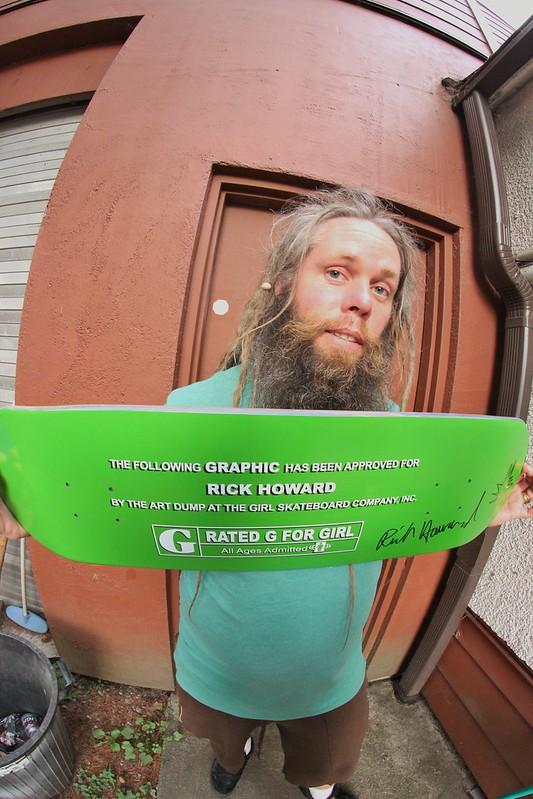 Signed Rick Howrad Deck