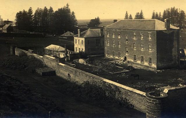 Old Military Barracks [RAHS/Frank Walker Collection]